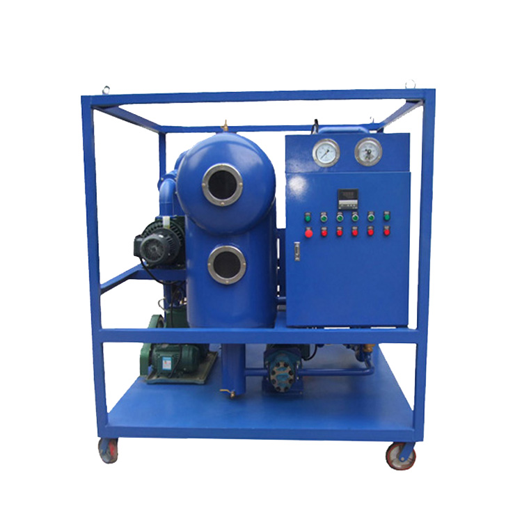 Transformer Oil Purification Dielectric Oil Filtration Machine