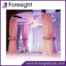 New design fiber wedding mandap decoration and sue wedding stage backdrop decorations for sale
