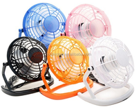 High quality 4/6 Inch 360 degree portable and cheap micro electric mini usb fan