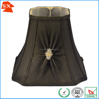 high quality snow white thread wrapped drum art decoration lighting shade