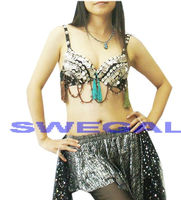 SWEGAL Belly dance Costume belly dance bra tribal belly dance top
