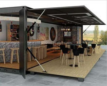 shipping container sandbeach bar homes prefab mobile container coffee shop for sale