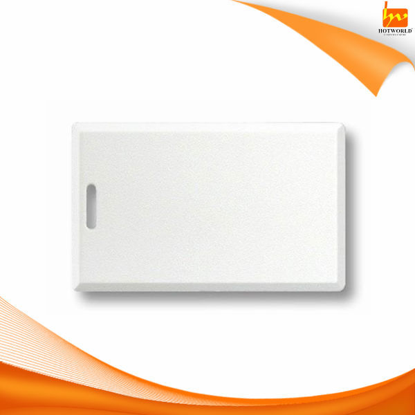 Full Color Print White Card Plastic Punch Hole Magnetic Stripe CR80 size 125KHZ ISO 1386 Proximity ID Card