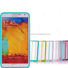 Transparent Clear TPU + PC Case Soft Protective Matte Case for Samsung Galaxy Note 3