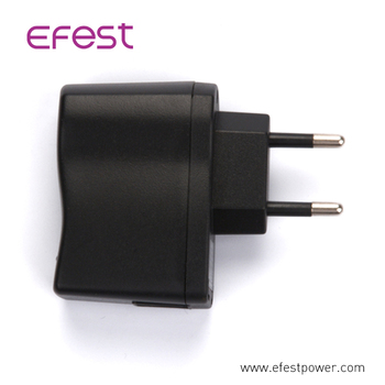 smartphone,MP3,MP4,MP5,bluetooth, usb fan 5V 0.75A EU plug Wall adapter from China electronic factory