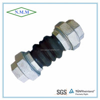 thread rubber flexible joint