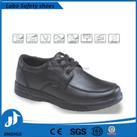 European standard upper leather PU sole low cut cheap work shoes safety shoes with steel toe cap