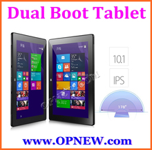12 inch Win10 intel Z8300 Quad core tablet pc with dual boot android 4.4 tablet with oringal window OS Support All language