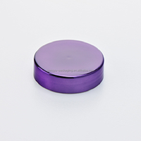 63 mm purple chrome cap for nutrition packaging