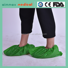 medical disposable safety shoes one-off non woven overshoe Waterproof CPE/PP reliable disposable Anti Dust and dirt Shoe Cover