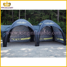 Outdoor camping inflatable tent, PVC cheap price promotion tent, connected inflatable tent