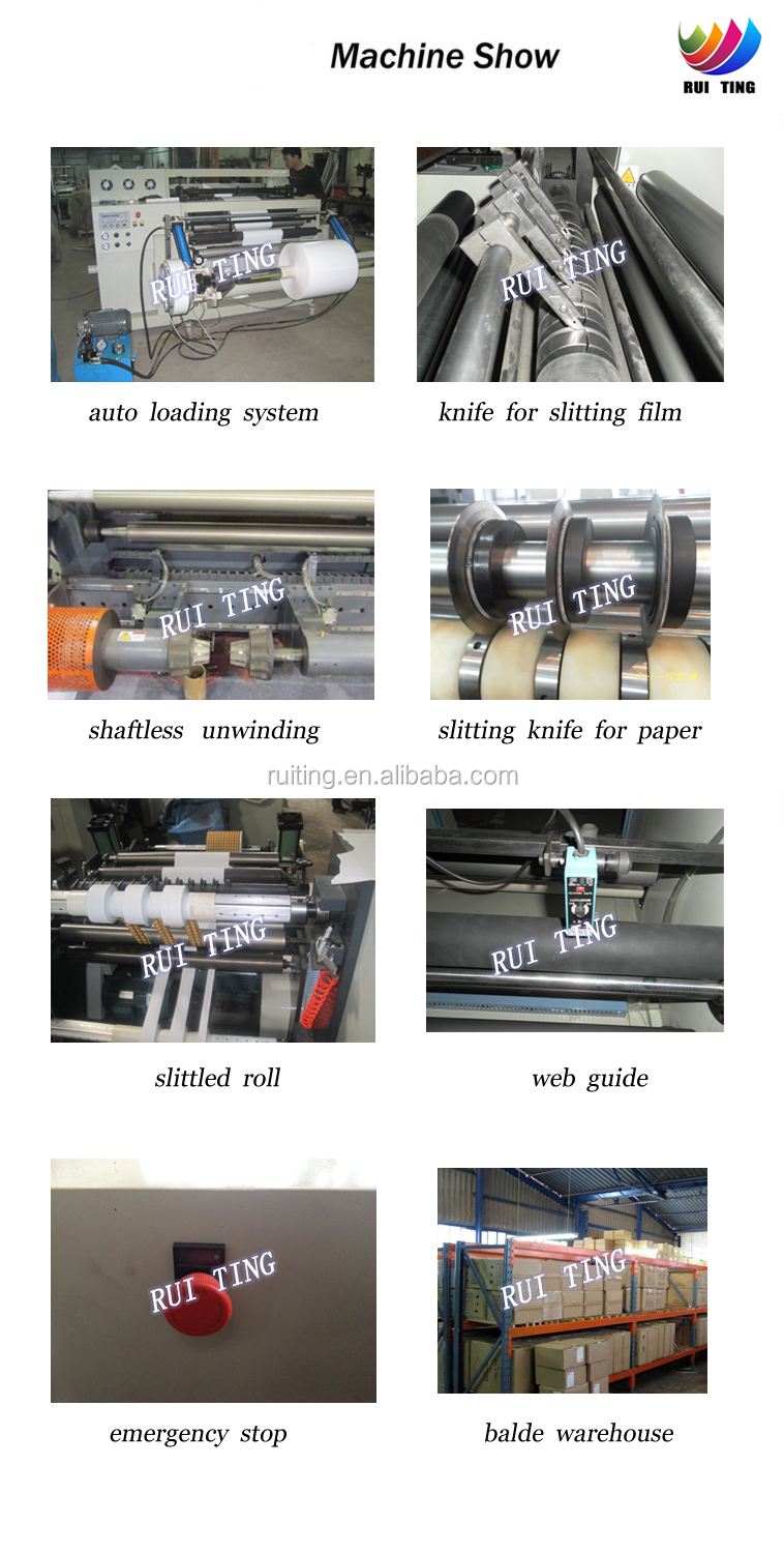 RTFQ-600/800A label paper slitting machine