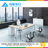 L-Shaped Office Furniture Desk with Right Return executive office table design