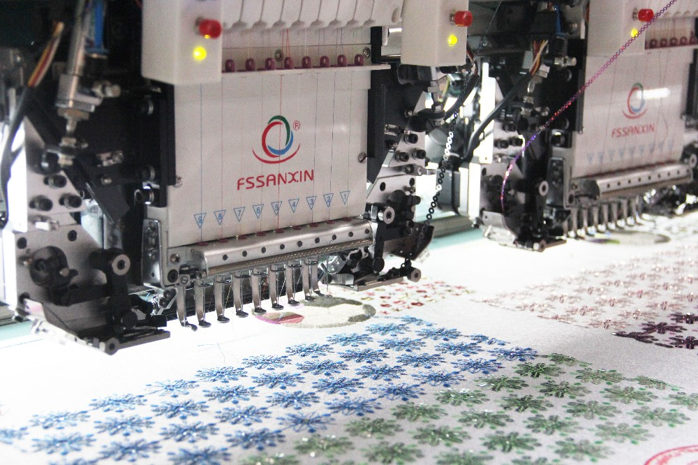 20 head computerized embroidery machine good price and quality compatible with Japan embroidery machine