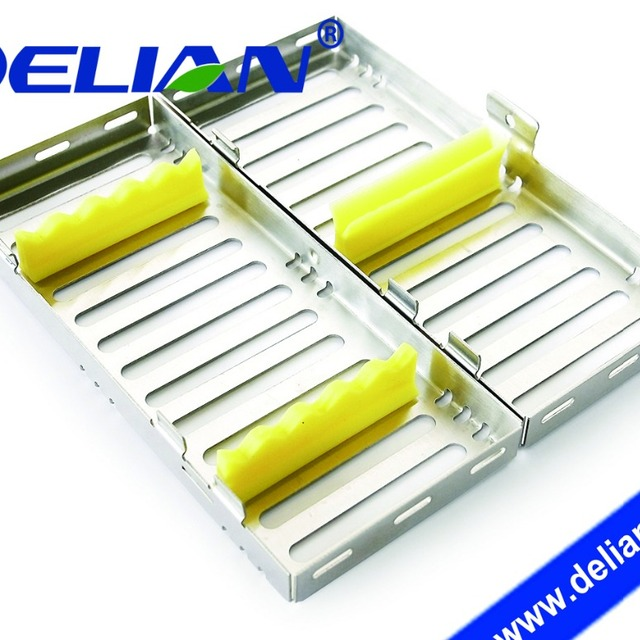 Delian Surgical Dental Instrument Cassette Stainless Steel