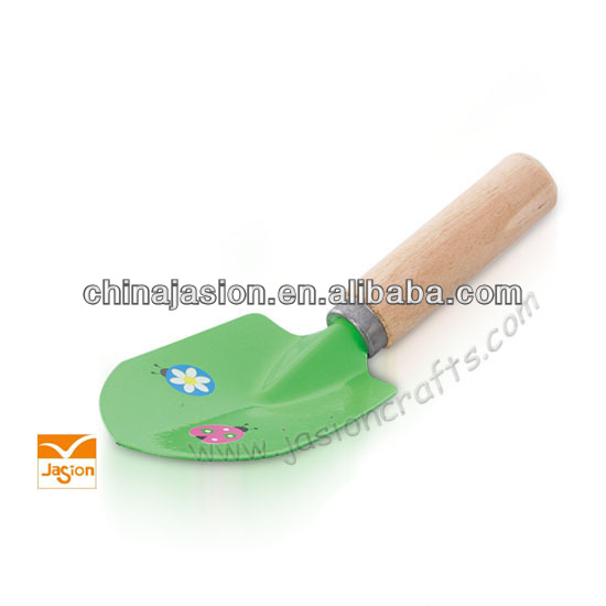 Colorful garden tool flower planter for child small size