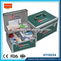 Plastic Empty First Aid Box , New Style Wholesale Car First Aid Kit