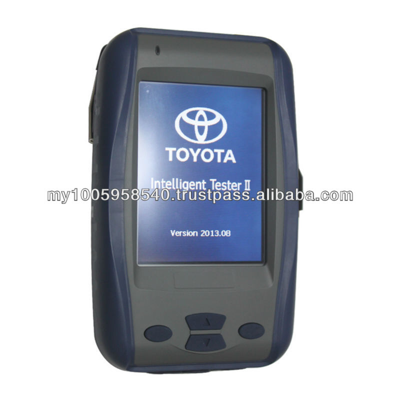 High quality Toyota IT2 scanner, also named Toyota Intelligent Tester II for all toyota and all suzuki ,3cards,2card slot
