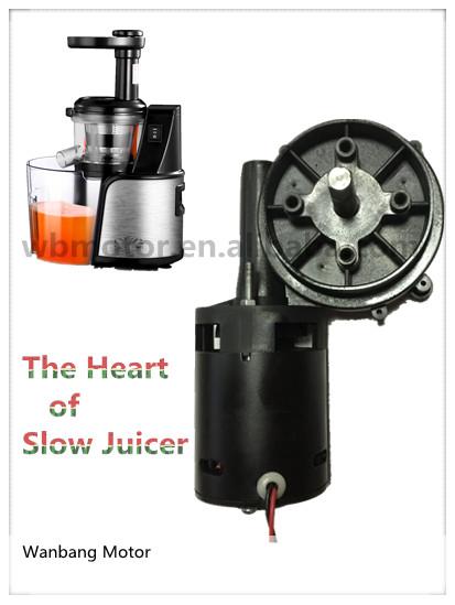 Wb4425 W Dc Gear Motor Slow Juicer Motor Buy Dc Motor