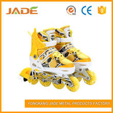 Low price best quality sale outdoor inline skate shoe 4 flash wheels