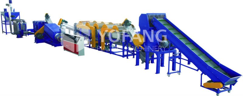 PE,PP Plastic Film Recycling&Cleaning Line
