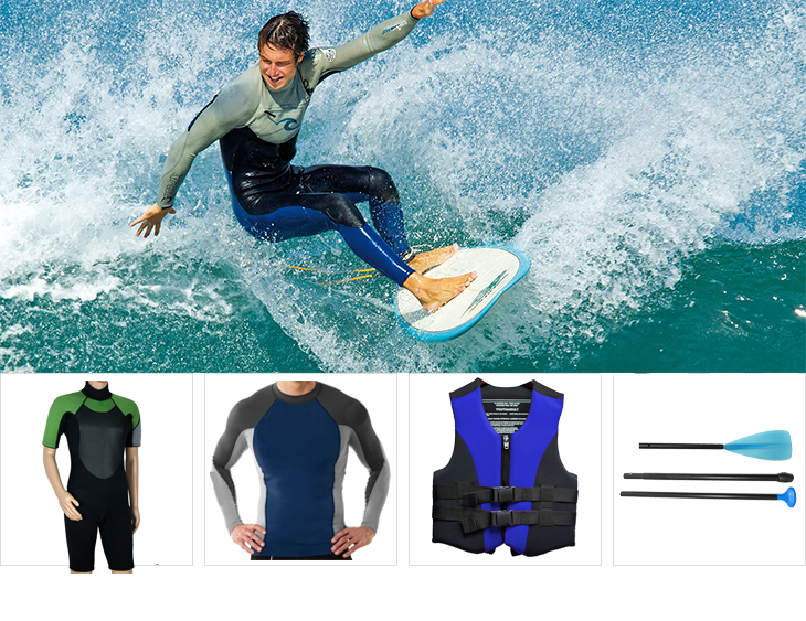 Professional waterproof kayak dry suit for underwater rescue