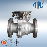 Flange Titanium Alloy Float Ball Valves