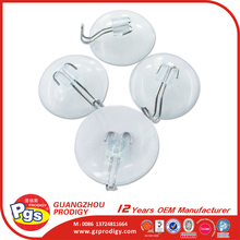 plastic rubber suction cup hook Suction Cup With iron line Hook