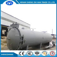Diameter 1200x4000 Vacuum heat pressure wood treatment equipment