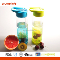 2016 everich new product plastic joyshaker water bottle