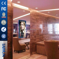 21.5 inch Digital Photo Frame Lcd Video Magic Mirror Display Advertising Motion Sensor Network Wifi Ad Player