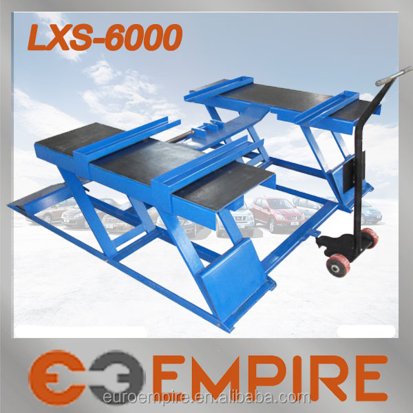 euro iii CE approved car scissor lift / car lift ramps