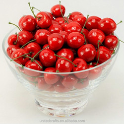 Home Decora Artificial Cherry Fake Foam Cherry Fruits