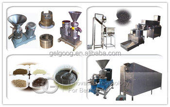 Commercial tahini machine Peanut butter making machine of 200kg h