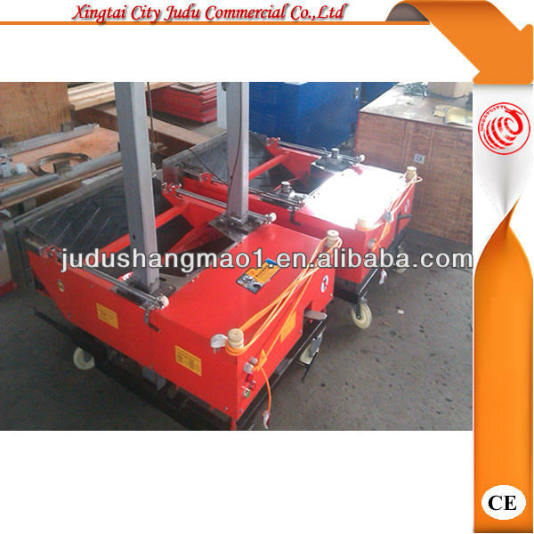 XJFQ-1000 wall render equipment/render plaster/robot plaster machine for wall