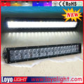 Super bright double row 4D hyper spot led light bar optics 120w Made in china