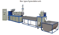 Newest Design full automatic plastic film recycling granulation unit