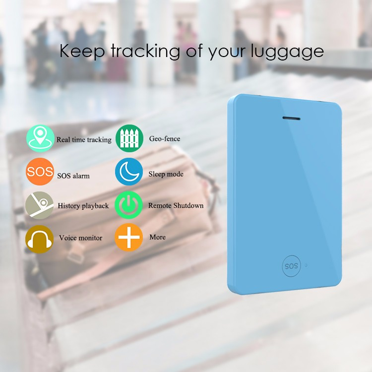 China supplier emergency response system low power alert track lost luggage