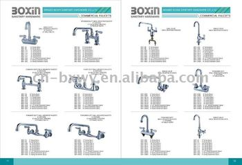China Kitchen Commercial Dishwasher Sink Faucets