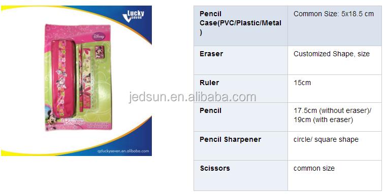 stationery items list for school pdf