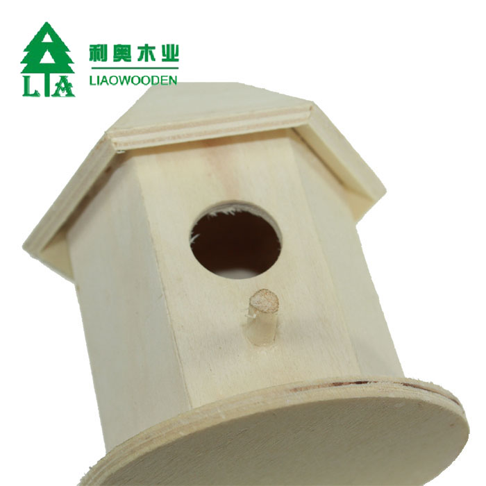Professional make wooden bird house manufactured in China