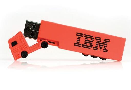 Promotional Truck Shape USB Flash Drive with Customized Logo