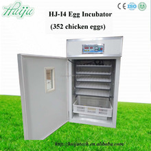 Hot-selling!!the latest type of chicken egg incubator hatching machine which can capacity 352 chicken eggs for sale HJ-I4