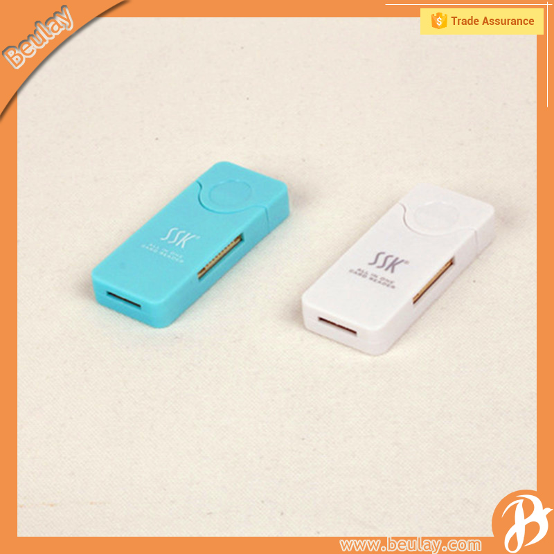 Wholesale SSK High Speed Multi Micro USB SD SSD TF Card Reader