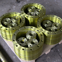 ASTM A182 F1 F5 F7 F9 F11 F12 F22 F91 alloy steel welding neck flanges