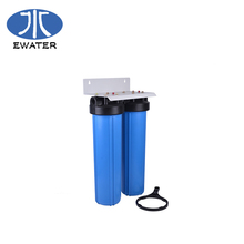 2.5&quot;<strong>x10</strong>&quot; 20 PVC Slim big blue cartridge filter Housing for water filter system