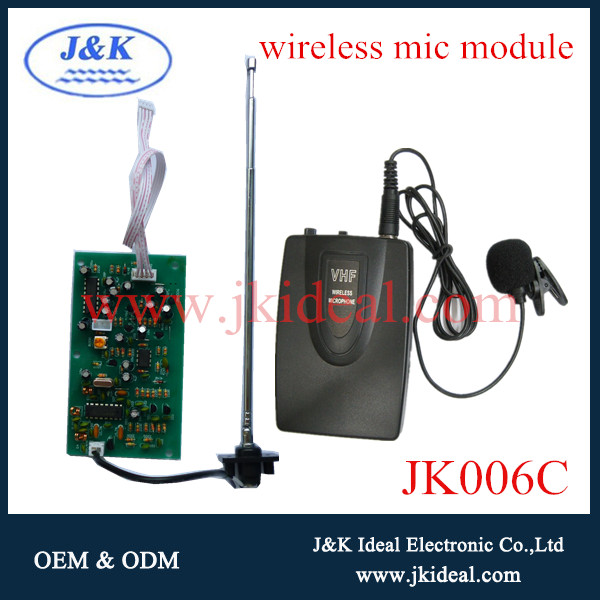 JK006C High quality microphone collar wireless for tour guides