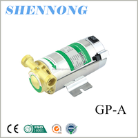 GP125 type single-phase household use bathroom Clean water self-priming water heater booster pump to pump water