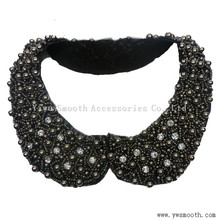 Pearls Collars Clothes Appliques Beads Trim Neck Choker Women Dress