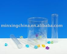 plastic blister clear tubes box for candy packaging